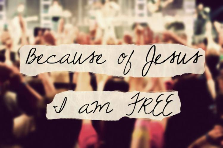 Because of Jesus ... I Am Free
